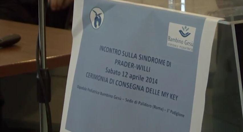 INCONTRO SULLA SINDROME DI PRADER-WILLI Palidoro 12 aprile 2014