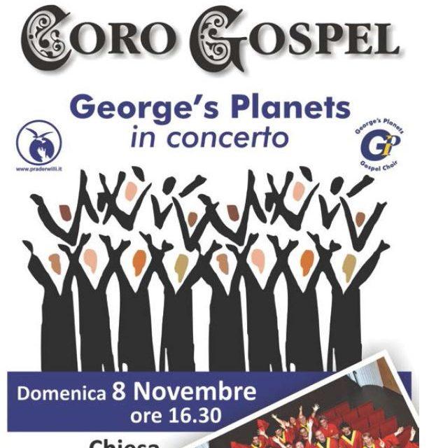 Coro Gospel George's Planets a Torino